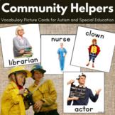 Community Helpers Vocabulary Crads, Pecs