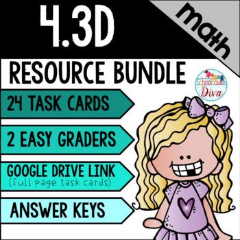 Comparing Fractions: 4.3D Math TEKS Resource Bundle
