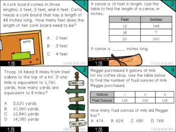 Converting Units of Measurement - 4.8B Math TEKS Resource Bundle