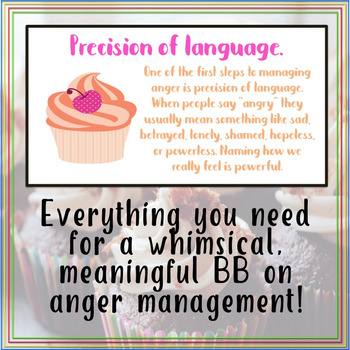 Cope-cakes for Peace: Anger Management Bulletin Board