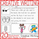 Creative Writing 20 Ready to print Worksheets Writing skil