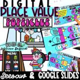 DIGITAL Adding & Subtracting Tens and Ones - Google Slides