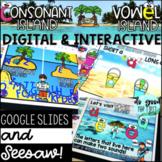 DIGITAL Consonants & Vowels - Letter Knowledge - Google Sl