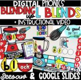 DIGITAL L Blends - Google Slides & Seesaw!