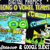DIGITAL LONG O with OA & OW - Google Slides & Seesaw!