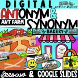 Digital Antonym Ant Farm & Synonym Roll Bakery!