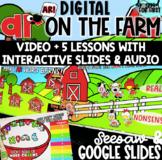Digital Bossy R - AR on the Farm!  Google Slides & Seesaw