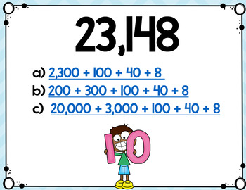 Digital Doohickeys: 4th Grade Expanded Form Numbers