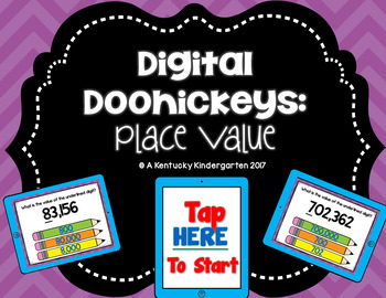Digital Doohickeys: Place Value