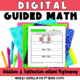 Digital Guided Math - Addition and Subtraction without Regrouping