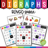 Digraphs BINGO Game (th, sh, ch, wh, ph, qu, tch, ng, ck)