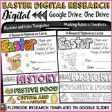 EASTER: DIGITAL RESEARCH REPORT FLIPBOOK: GOOGLE DRIVE: GOOGLE CLASSROOM