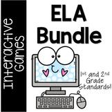 50% OFF ELA Interactive Games **BUNDLE** for Grades 1-2 /