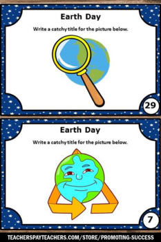 Earth Day Writing Prompts, Literacy Centers, Reduce Reuse Recycle Comprehension