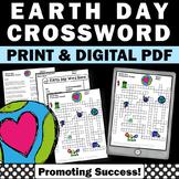Earth Day Activities Supplement - Crossword Puzzle Worksheet