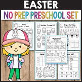 Easter Activities Kindergarten, Spring Math Worksheets Preschool
