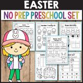 Easter Activities Kindergarten Spring Math Worksheets Preschool