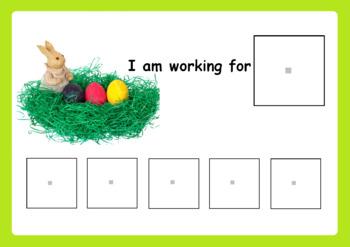 FREE Easter Token Reward Board