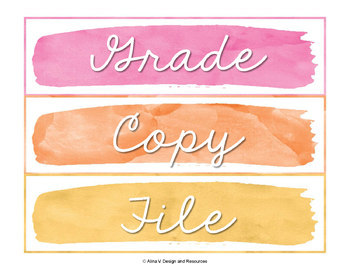 Sterilite Drawer Labels EDITABLE, 10 drawer Cart Labels Editable