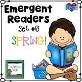 Spring Emergent Readers for Kindergarten