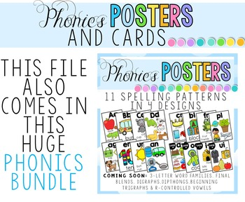 End Blends Posters and Cards BUNDLE