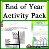 End of the Year Activities: Logic Puzzles