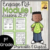 Engage NY Grade 1 Module 1 Lessons 25-39 Printable and Dig
