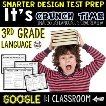 Test Prep 3rd Grade Language for Google Classroom