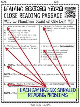 Reading Test Prep 3rd Grade for Google Classroom