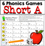 Short A Vowel One Page Games
