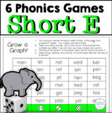 Short E Vowel One Page Games