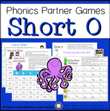 Short O Vowel One Page Games