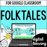 Google Classroom Digital Reading Fables, Folktales, & Fairy Tales
