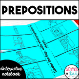 Prepositions - Grammar Interactive Notebook