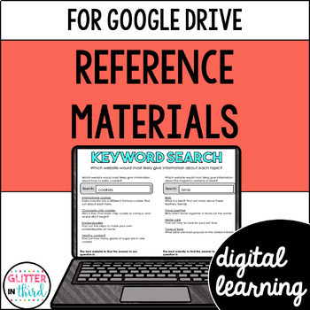 Reference Materials for Google Classroom DIGITAL
