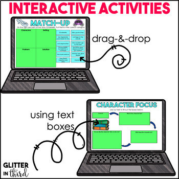 Story Elements for Google Classroom DIGITAL