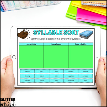 Syllables for Google Drive & Google Classroom