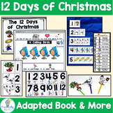 12 Days of Christmas Adapted Book and Counting Activities