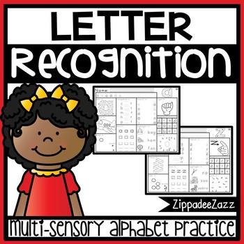 Letter Recognition Activity Worksheets