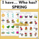 Vocabulary: I have… /Who has…?  SPRING Game for Primary Children (SASSOON)