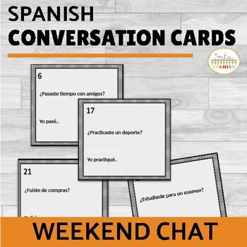 Weekend Chat Conversation Cards