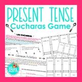 Present Tense Verbs Cucharas Game   Spanish Spoons Game
