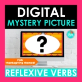 Fall Thanksgiving Reflexive Verbs Digital Mystery Picture