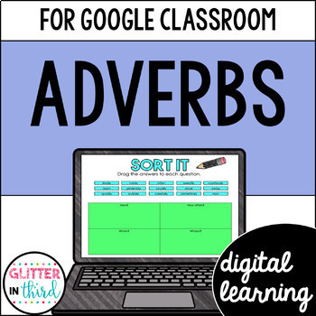 Adverbs for Google Drive & Google Classroom