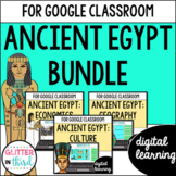 Ancient Egypt for Google Classroom DIGITAL BUNDLE