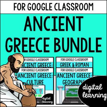 Ancient Greece for Google Classroom DIGITAL