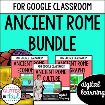 Ancient Rome for Google Drive & Google Classroom