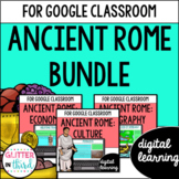 Ancient Rome for Google Classroom DIGITAL BUNDLE