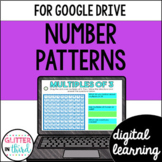 Number patterns and arithmetic sequences for Google Classroom Distance Learning