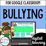 Google Classroom Distance Learning Bullying Activities
